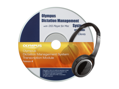 ODMS ‑ Transcriptionsmodule, Olympus, Transcription Software